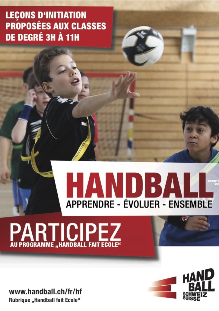 Handball fait ecole