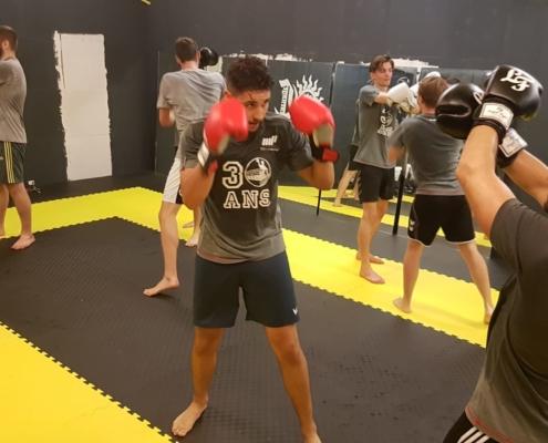 entrainement boxe